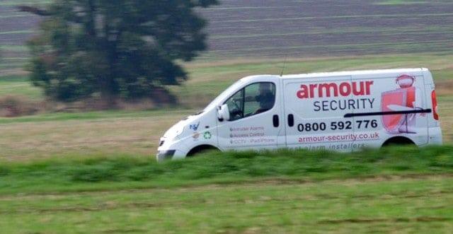 Armour Security Van