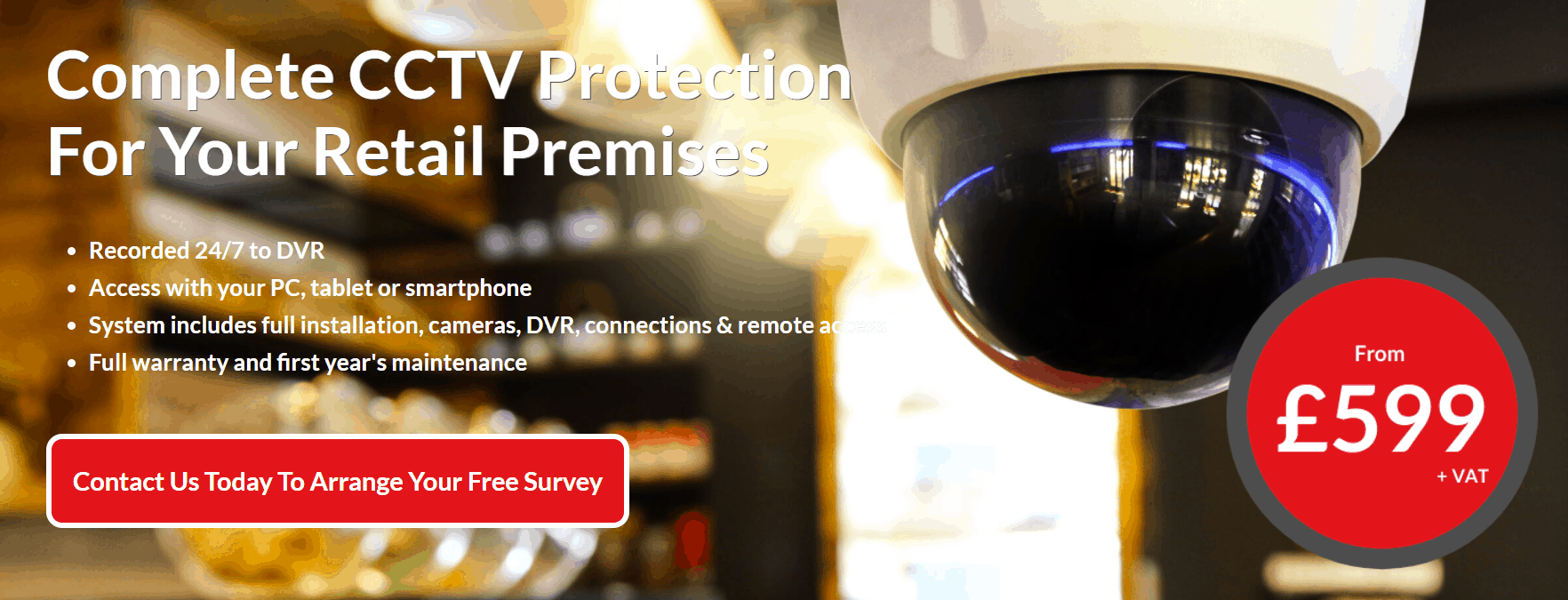 CCTV for Retail for Mobile